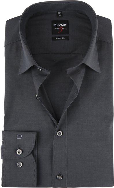 olymp-overhemd-level-5-bf-checks-grey