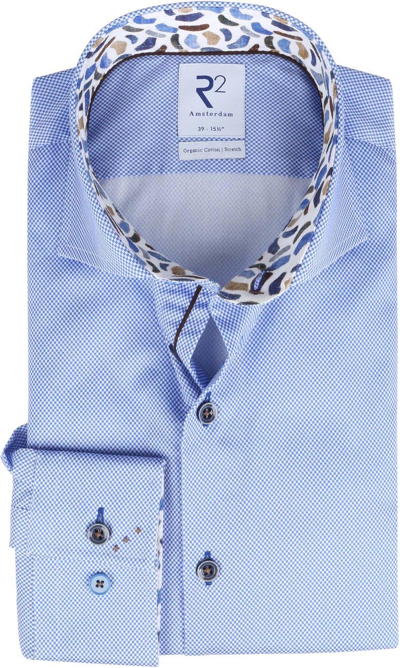 R2-Overhemd-Minimalistic-Print-Lichtblauw